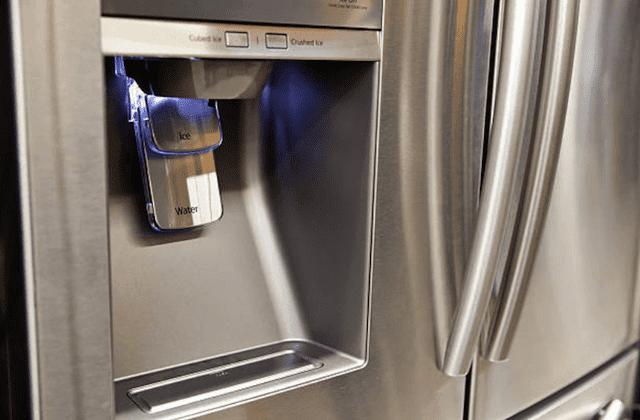 defective refrigerator water dispenser pic